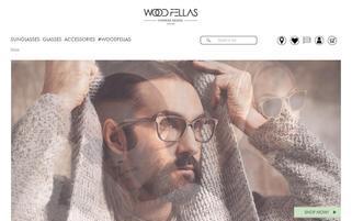 WOOD FELLAS Webseiten Screenshot