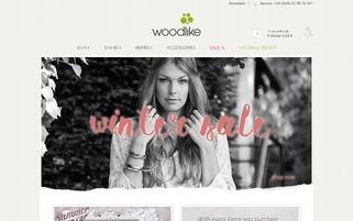 woodlike.org Webseiten Screenshot