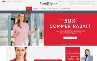 woolovers.de Webseiten Screenshot