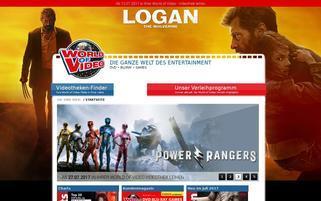 World of Video Webseiten Screenshot