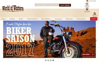 world-of-western.de Webseiten Screenshot