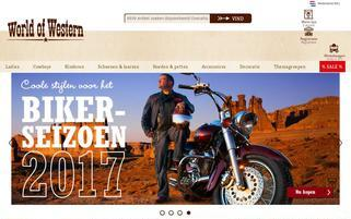 world-of-western.nl Webseiten Screenshot