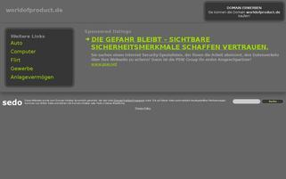 worldofproduct.de Webseiten Screenshot