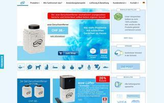 wow-geruch.ch Webseiten Screenshot