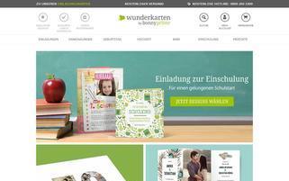 wunderkarten.de Webseiten Screenshot