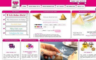 Wunschkeks Webseiten Screenshot