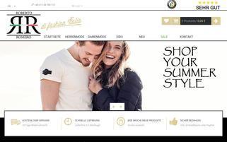 www.de.roberto-romero.com Webseiten Screenshot