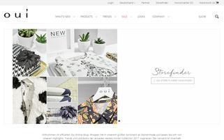 www.shop.oui.com Webseiten Screenshot