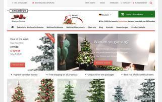 xmasdeco.de Webseiten Screenshot