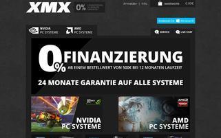 XMX Webseiten Screenshot