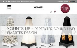 XOUNTS Webseiten Screenshot
