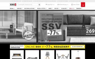 XXXL Webseiten Screenshot