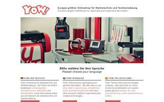 y-o-w.com Webseiten Screenshot