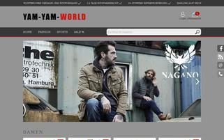 Yam Yam Fashion Webseiten Screenshot