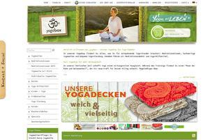 Yogabox Webseiten Screenshot