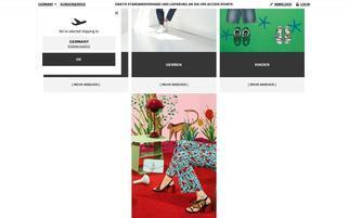 YOOX Webseiten Screenshot