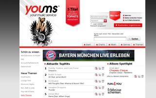 Youms Webseiten Screenshot