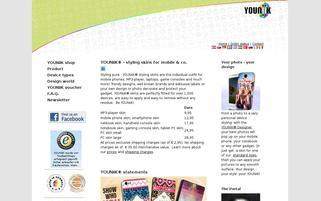 YOUNiiK Webseiten Screenshot