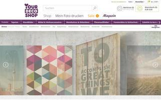 yourdecoshop Webseiten Screenshot