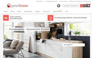 yourHome Webseiten Screenshot