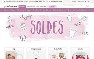 yoursurprise.fr Webseiten Screenshot