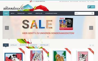 zahlenmalerei.de Webseiten Screenshot