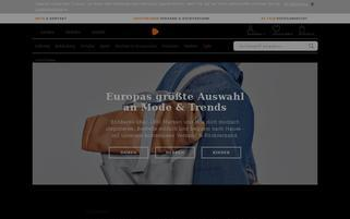 Zalando.at Webseiten Screenshot