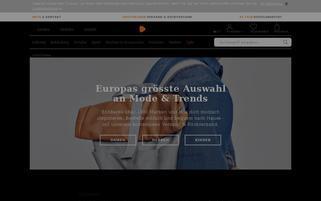 Zalando Schweiz Webseiten Screenshot