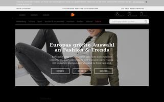 Zalando Webseiten Screenshot