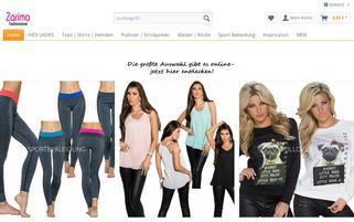 zarima.de Webseiten Screenshot