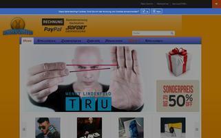 zauberschuppen.de Webseiten Screenshot