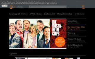 ZDF Shop Webseiten Screenshot