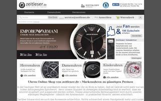 zeitleser.de Webseiten Screenshot