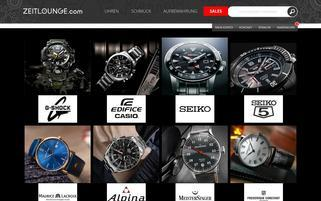 Zeitlounge Webseiten Screenshot