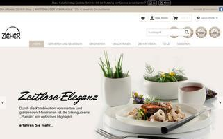 zieher-shop.de Webseiten Screenshot