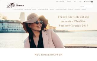zimano.de Webseiten Screenshot