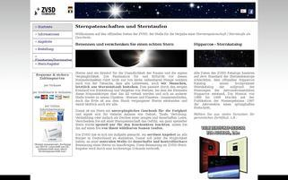 ZVSD Webseiten Screenshot