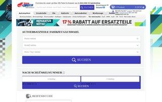 Autoteiledirekt Webseiten Screenshot