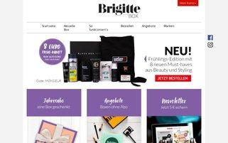 Brigitte Box Webseiten Screenshot