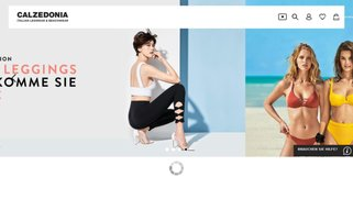 Calzedonia Webseiten Screenshot
