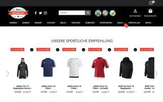 DeinSportsfreund Webseiten Screenshot
