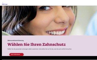 ERGO Webseiten Screenshot