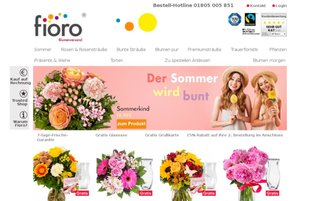 fioro Webseiten Screenshot