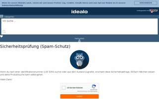 idealo Webseiten Screenshot