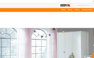 Möbel Kraft Webseiten Screenshot
