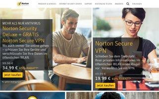 Norton Webseiten Screenshot