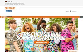 Opposuits Webseiten Screenshot