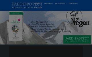 Paediprotect Webseiten Screenshot