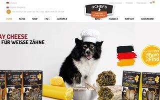 Qchefs Webseiten Screenshot