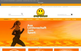 Sport-Kiosk Webseiten Screenshot